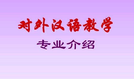 成人高考对外汉语专业--湖南城市学院